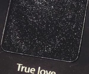 black, makeup, and true love image