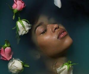 aesthetic, bath, and calm image