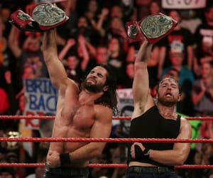 wwe, wwe tag team championship, and seth rollins image