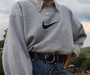 fashion, gray, and jeans image