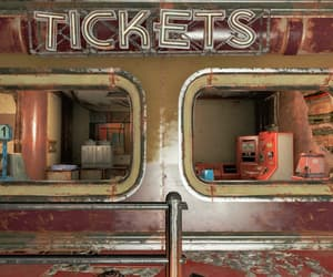abandoned, rusted, and tickets image