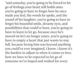 heartbreak, quote, and moving on image