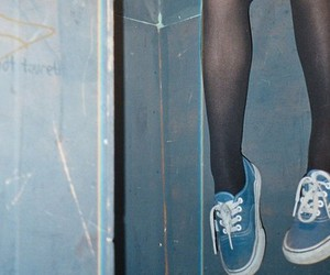 vans, shoes, and legs image