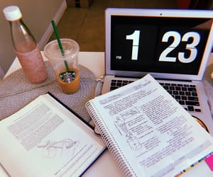books, coffee, and med student image