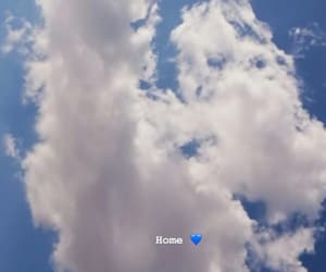 home, sky, and cute image