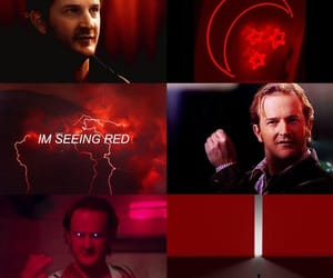 aesthetic, gabriel, and red image