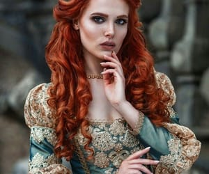 princess, hair color, and crown image