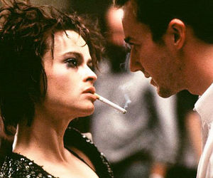 fight club, edward norton, and helena bonham carter image