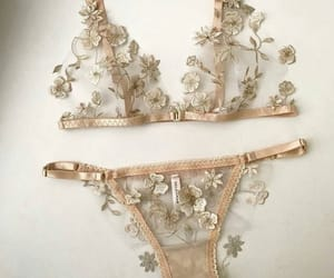 lingerie, flowers, and girly image