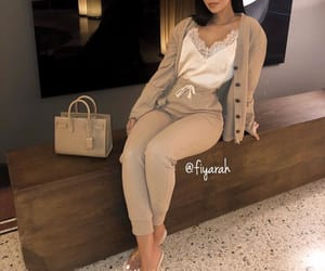 meuf frappe girl, fashion style lux, and ysl yves saint laurent image