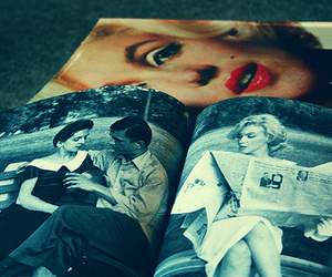 Marilyn Monroe, pretty, and vintage image