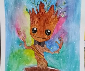 dibujo, draw, and groot image