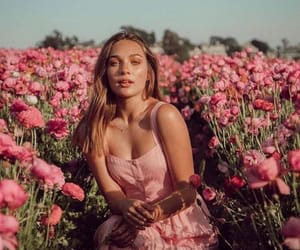 flowers, maddie ziegler, and photoshoot image