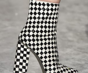 fashion, shoes, and checkered image