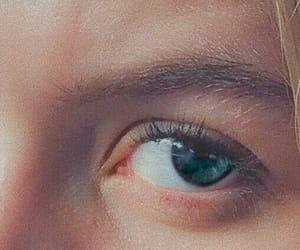 artsy, blue eye, and blue eyes image