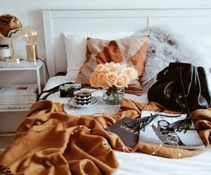 bed, coffee, and cozy image