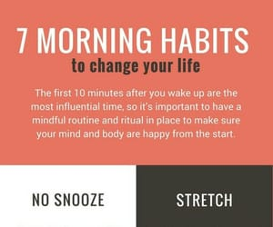 empowerment, healthy, and morning image