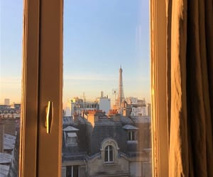 aesthetic, beige, and eiffel tower image