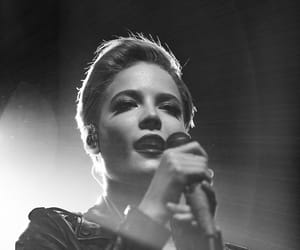 black and white and halsey image