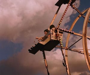 first kiss, dates, and ferris wheel image