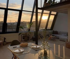 home, aesthetic, and sunset image