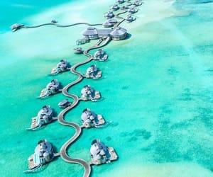 nature, travel, and Maldives image
