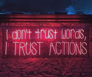 night, quotes, and trust image