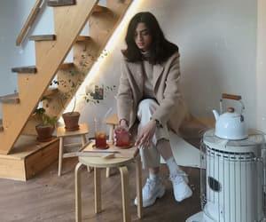 beautiful, cafe, and fashion image