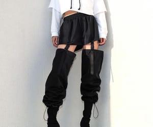 black, fashion, and kpop image