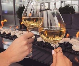 drinks, food, and glamorous image
