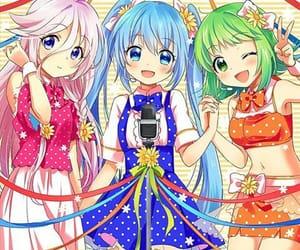 hatsune miku, ia, and gumi image