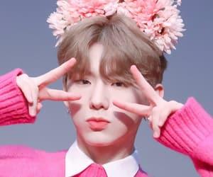 pink, monsta, and kihyun image