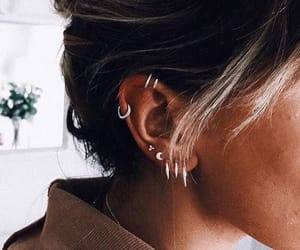 jewelry, piercing, and style image