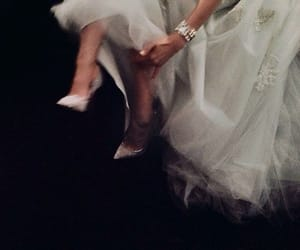dress, shoes, and heels image