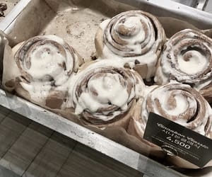 cinnamon buns, delicious, and taste image