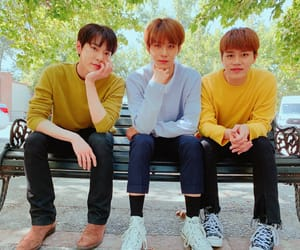 jungwoo, taeil, and doyoung image
