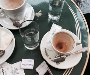coffee, paris, and travel image