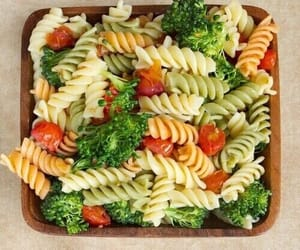 food, pasta, and healthy image