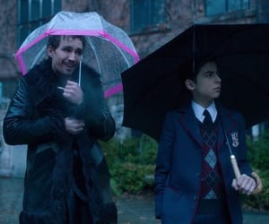 the umbrella academy and klaus hargreeves image