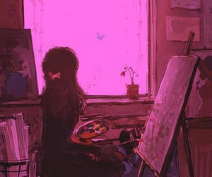 art, beautiful, and mood image