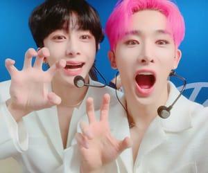 wonho, hyungwon, and monsta x image