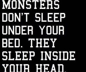 quotes, black, and monsters image