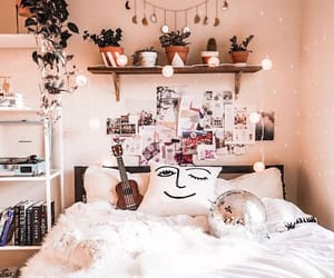bedroom, decor, and goals image