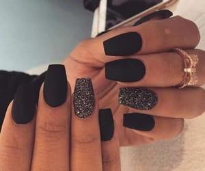girl, nails, and lenacooper image