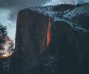 california, yosemite, and nature image