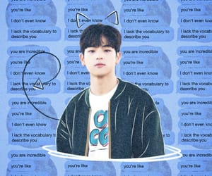azul, blue, and woojin image