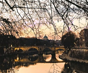 city, rome, and love image