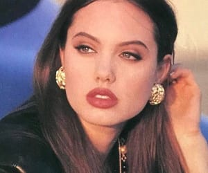 Angelina Jolie, 90s, and vintage image