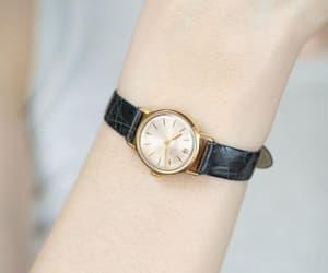 etsy, minimalist watch, and petite lady watch image