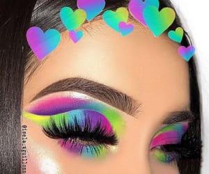 makeup, makeup artist, and brows image